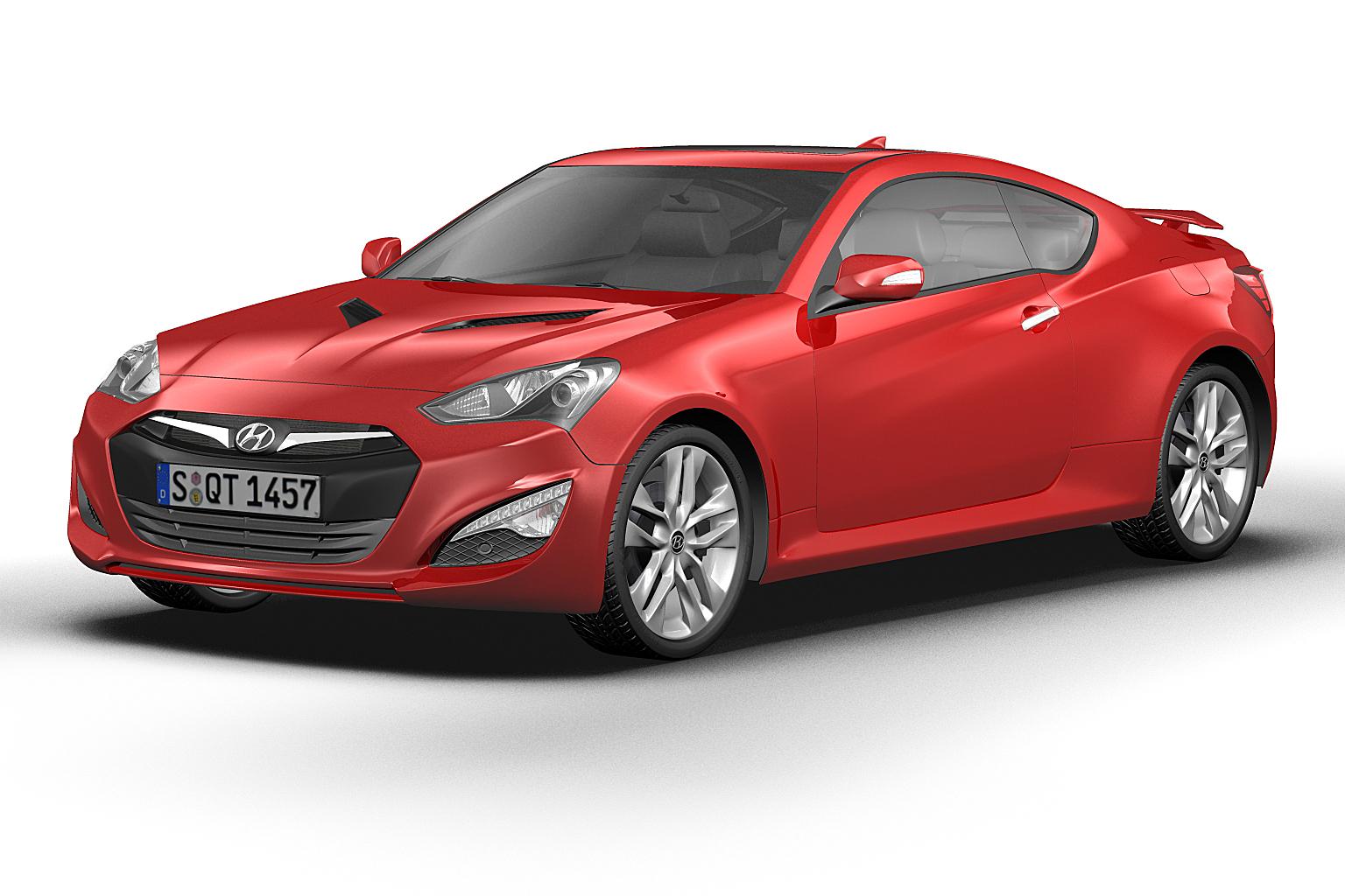 2014 Hyundai Genesis Coupe #9 Hyundai Genesis Coupe #9