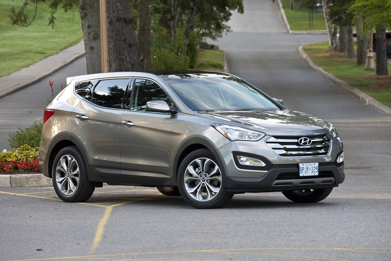 2014 Hyundai Santa Fe Gray 200 Interior And Exterior Images
