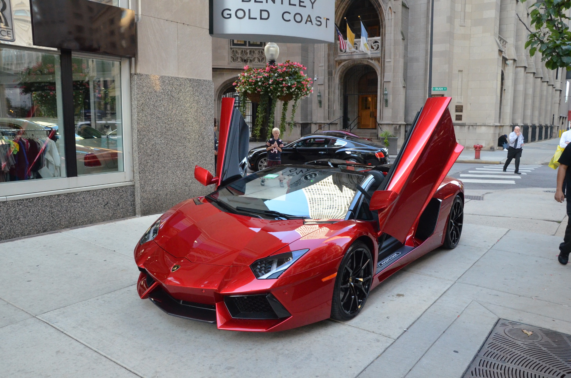 Red Lamborghini 2014
