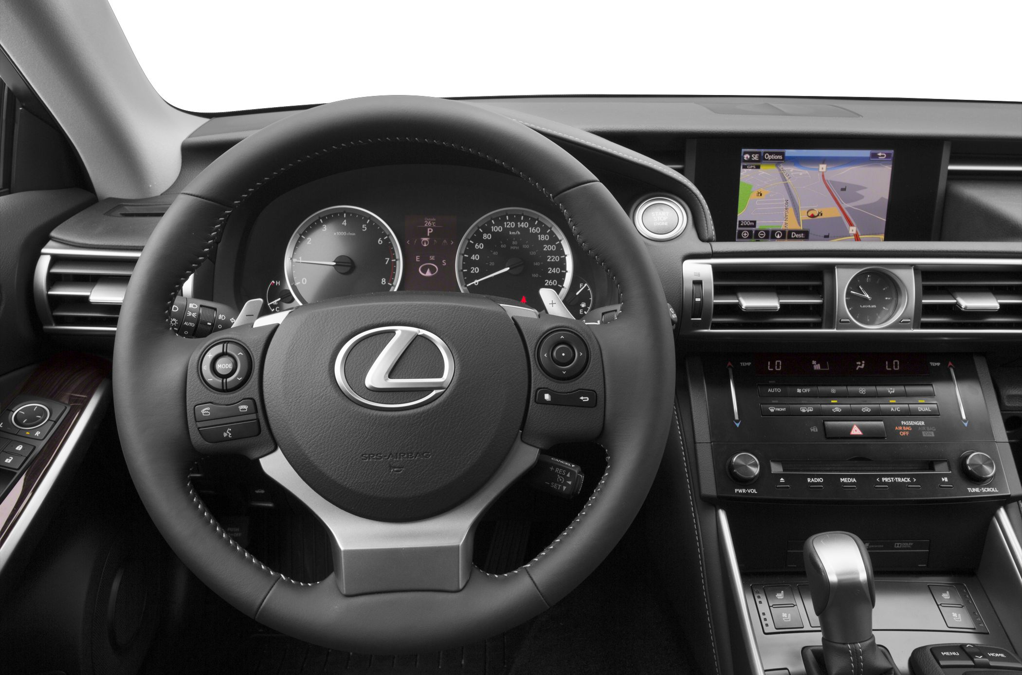 exterior lexus track is day