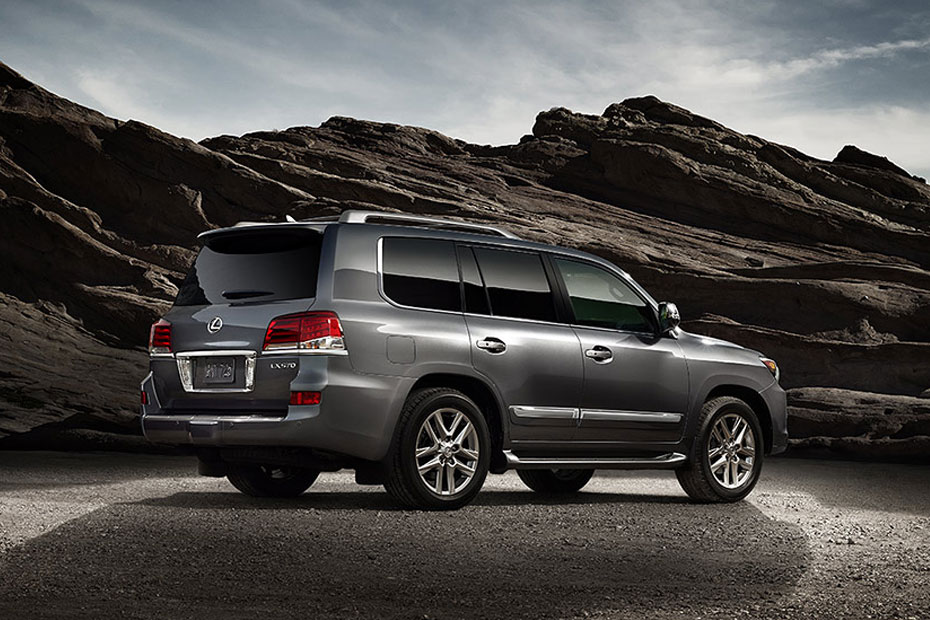 2014 Lexus LX 570 - Information and photos - ZombieDrive