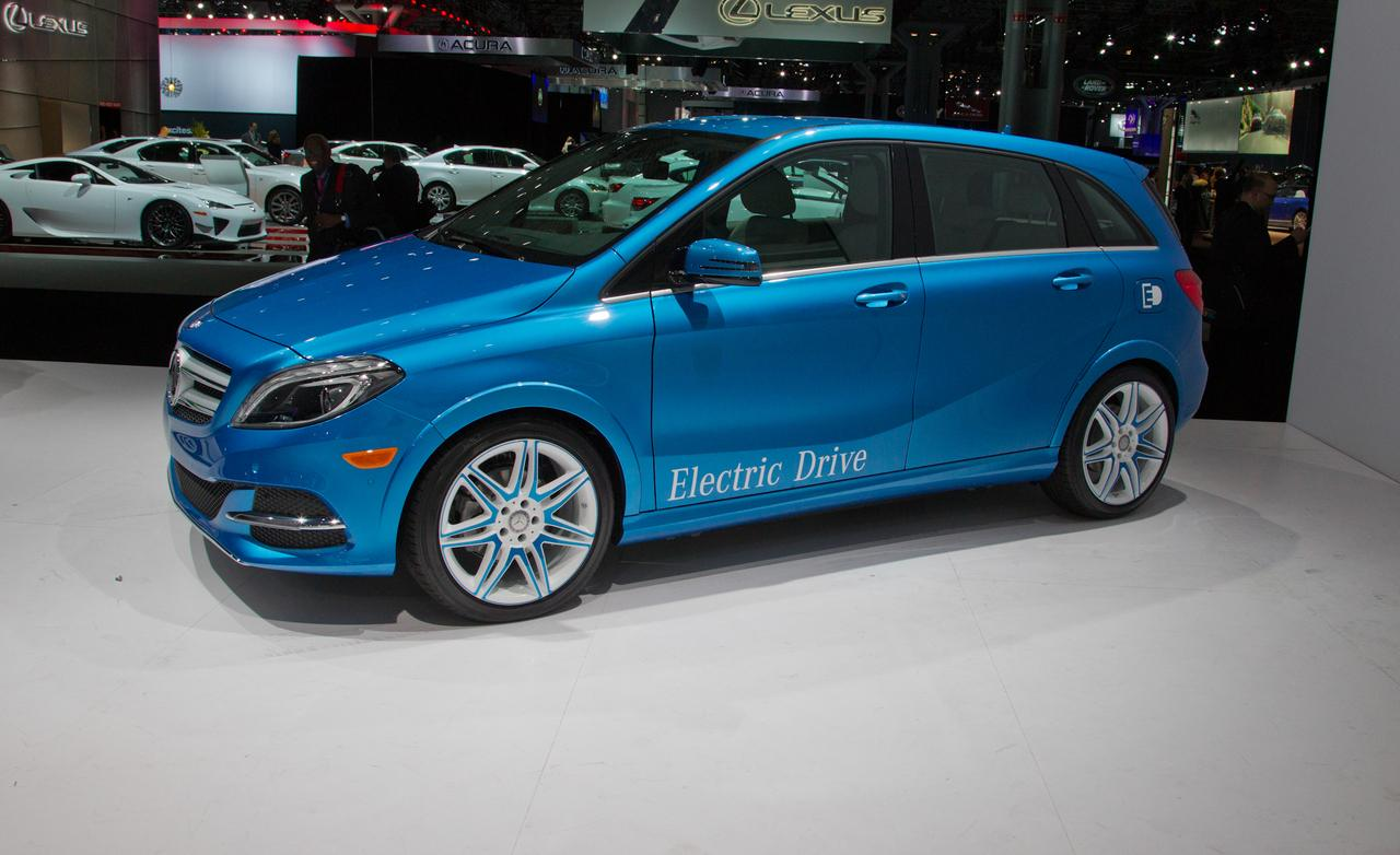 2014 mercedes benz b class electric drive image 20 for Mercedes benz electric drive