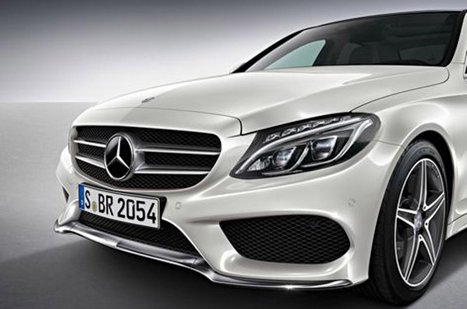 2014 mercedes benz c class image 9 for Mercedes benz clase c