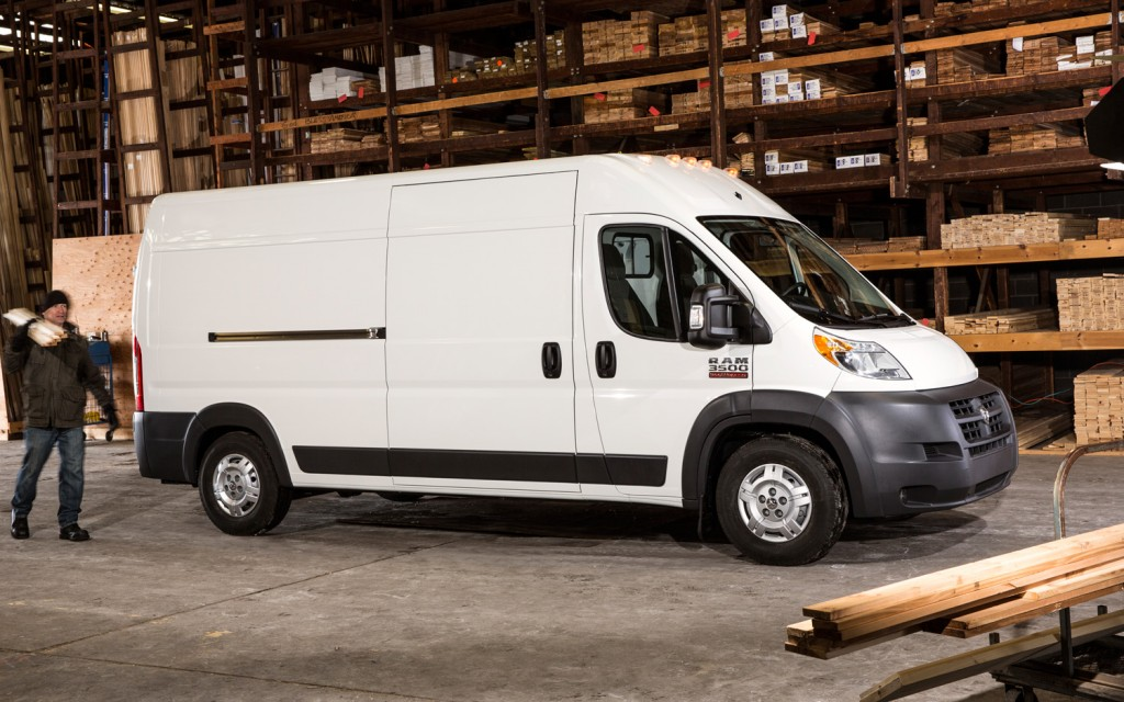 Ram Promaster Window Van #13