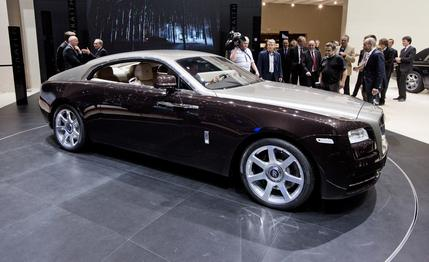 Brief Review of 2014 Rolls-Royce Wraith #14