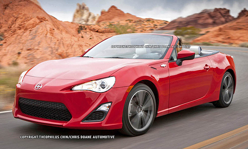 Scion FR-S Convertible #6