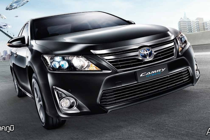 2014 toyota camry modified