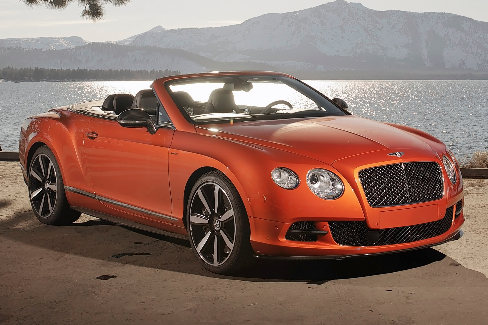 2014 Bentley Continental  interior #1