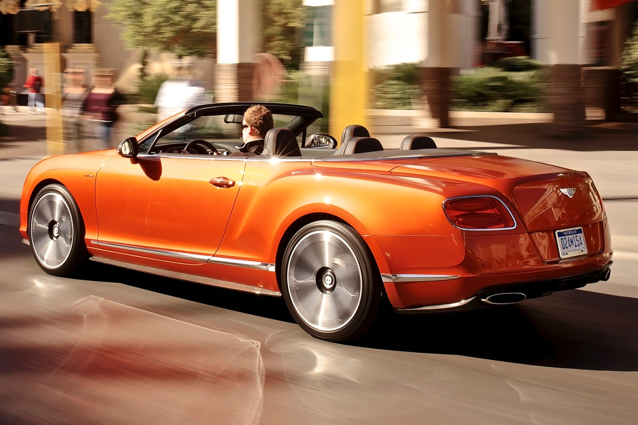 2014 Bentley Continental  interior #7