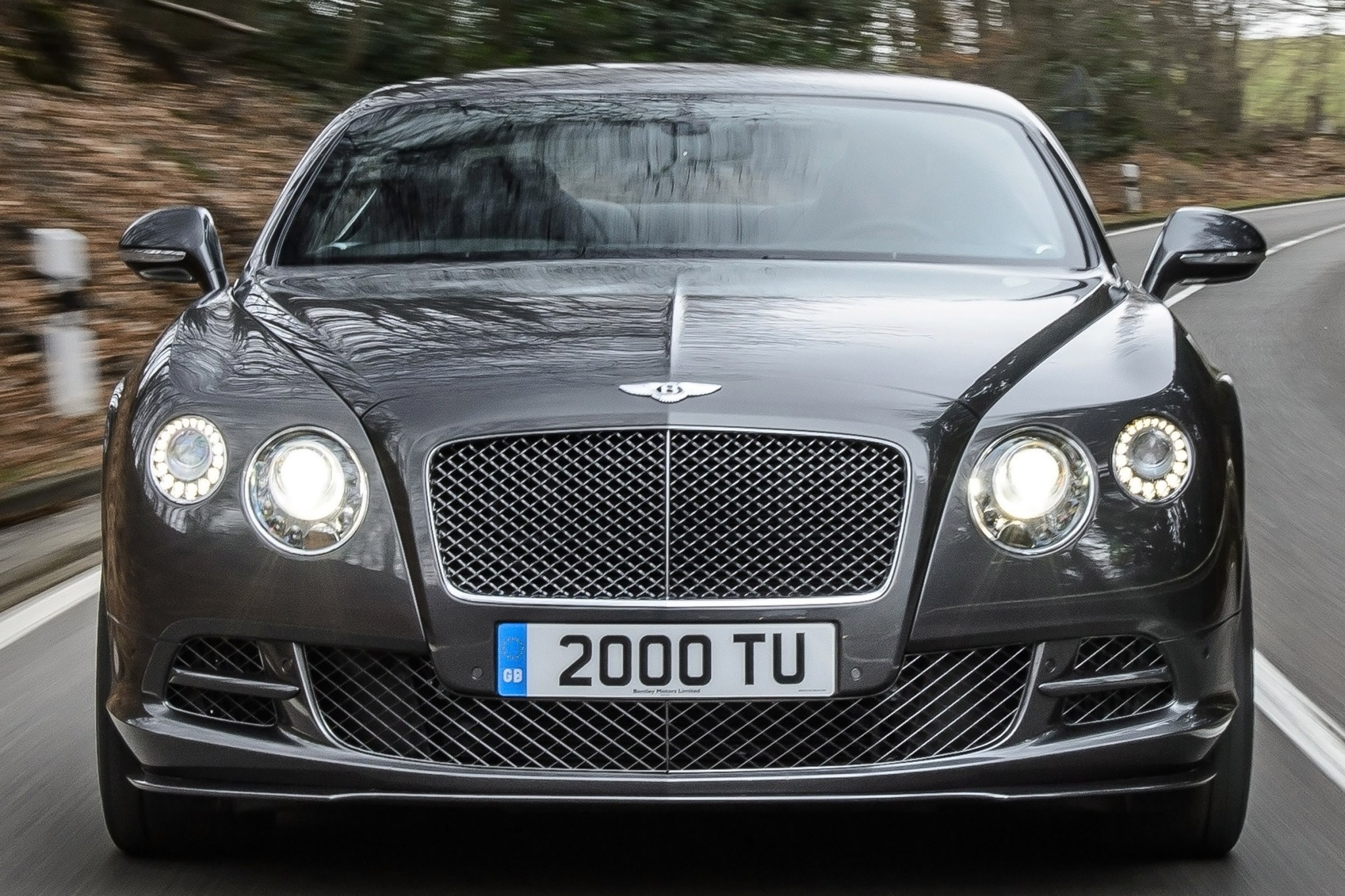 2014 Bentley Continental  interior #5