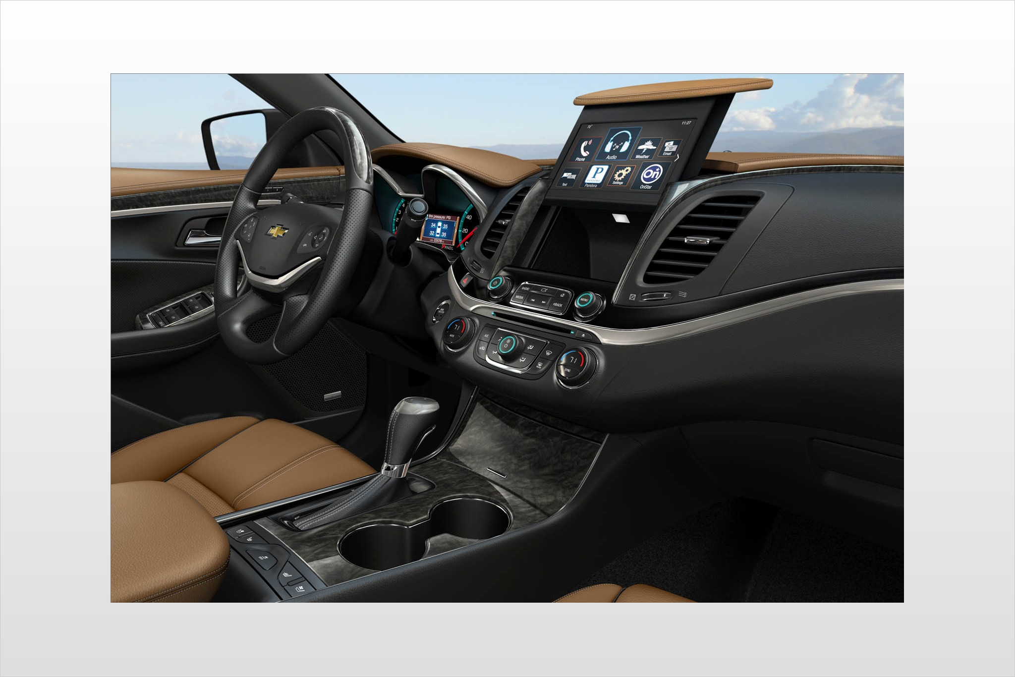 2013 Chevrolet Impala 4dr Sdn LT Retail Specs and Features | U.S. ...