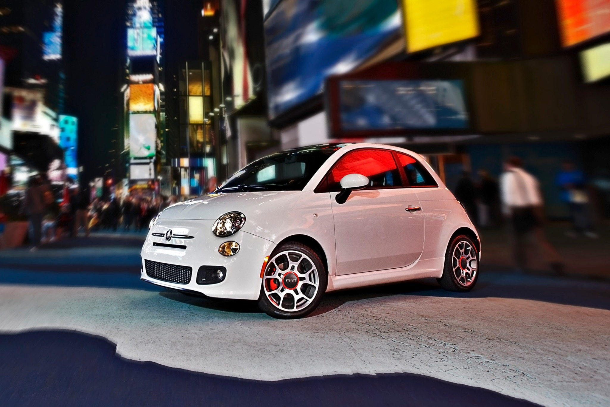 2014 FIAT 500 C Lounge Co interior #2