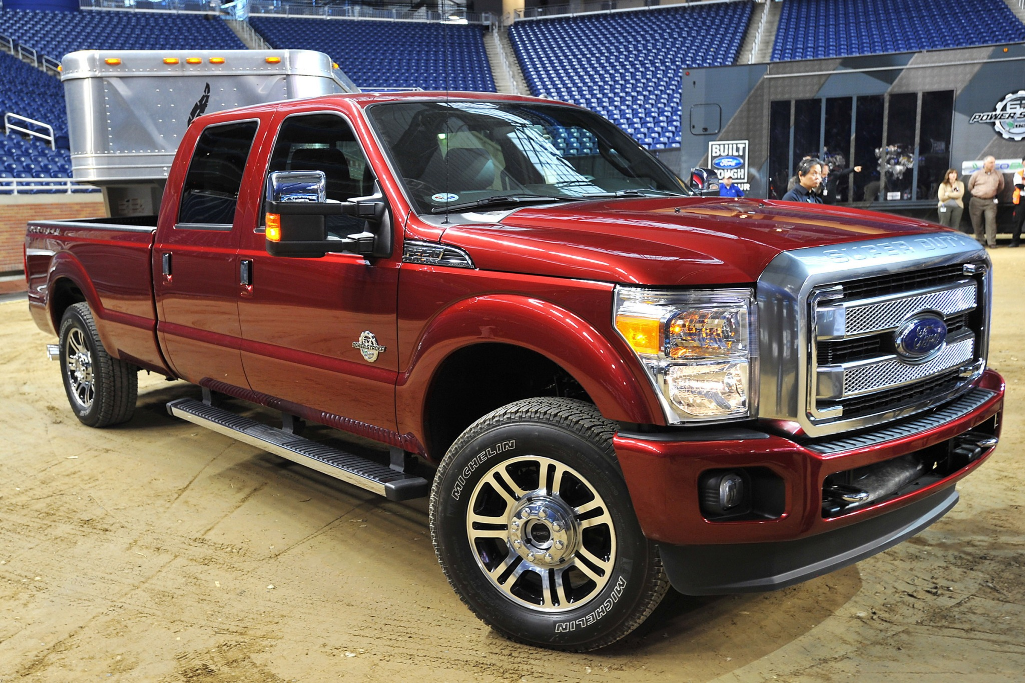 2014 Ford F-250 Super Dut interior #2