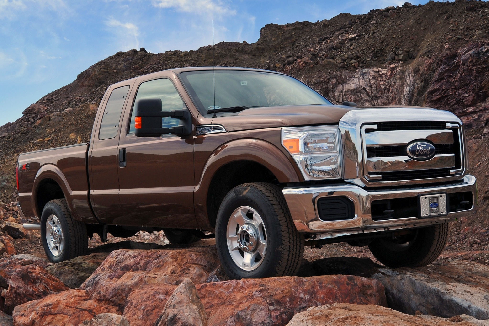 2014 Ford F-250 Super Dut interior #3