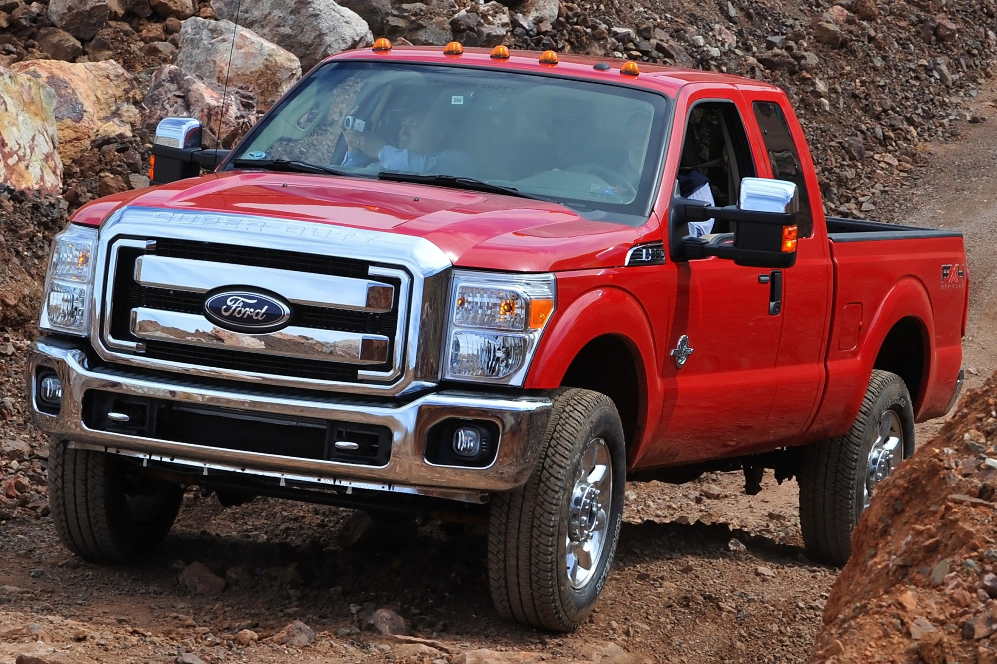 2014 Ford F-250 Super Dut interior #4
