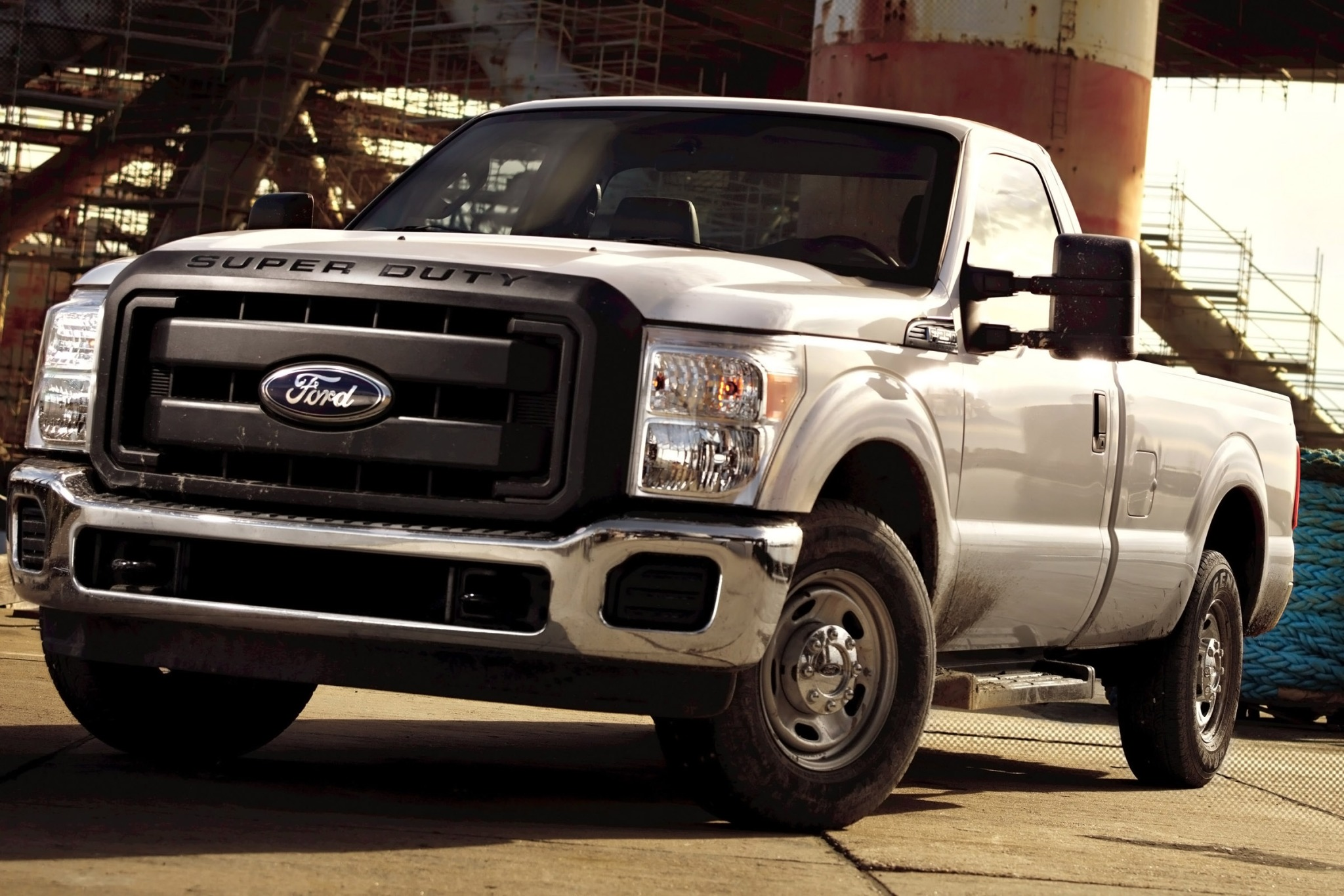 2014 Ford F-250 Super Dut interior #5
