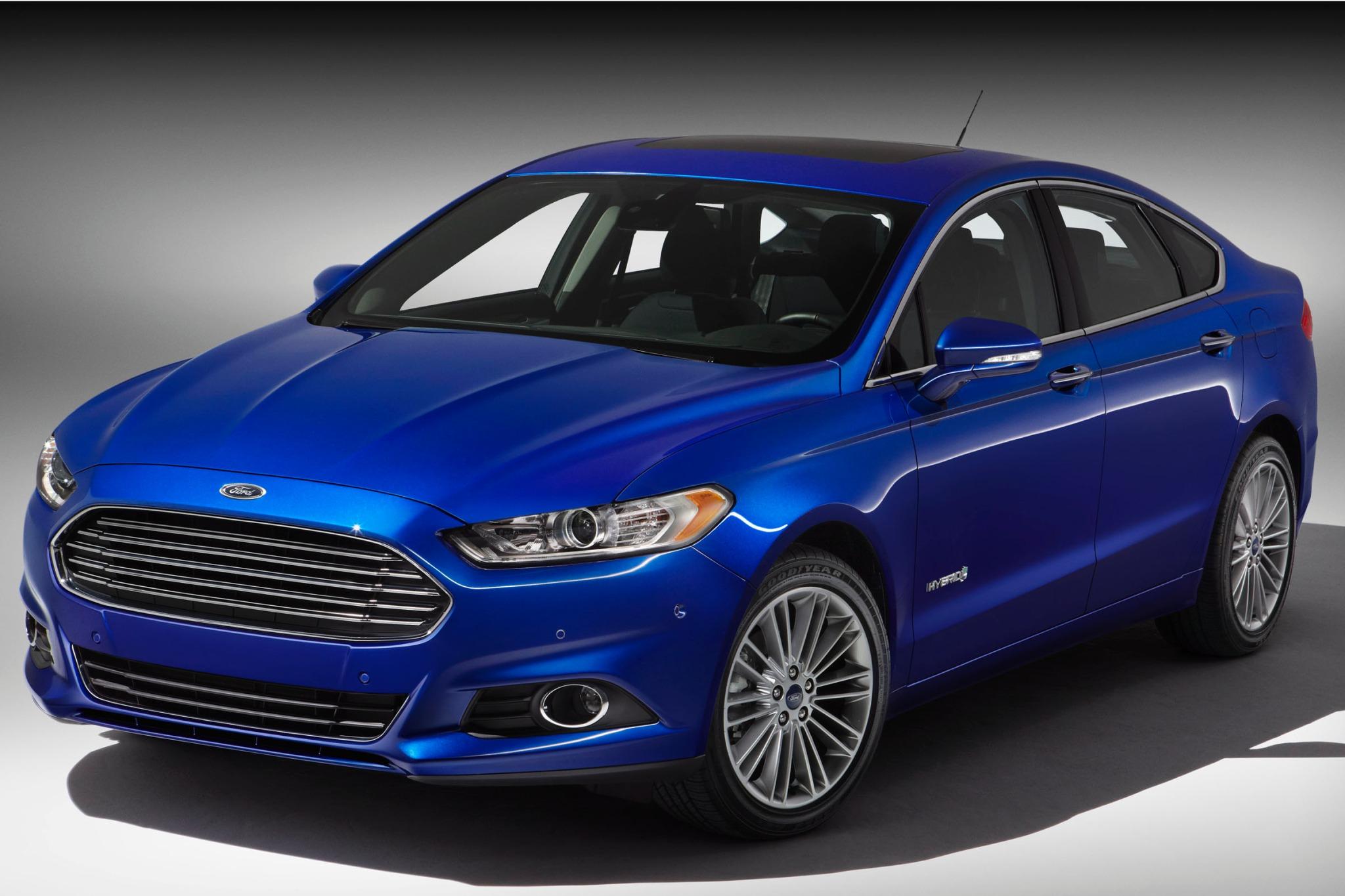 2014 ford fusion hybrid s interior 1