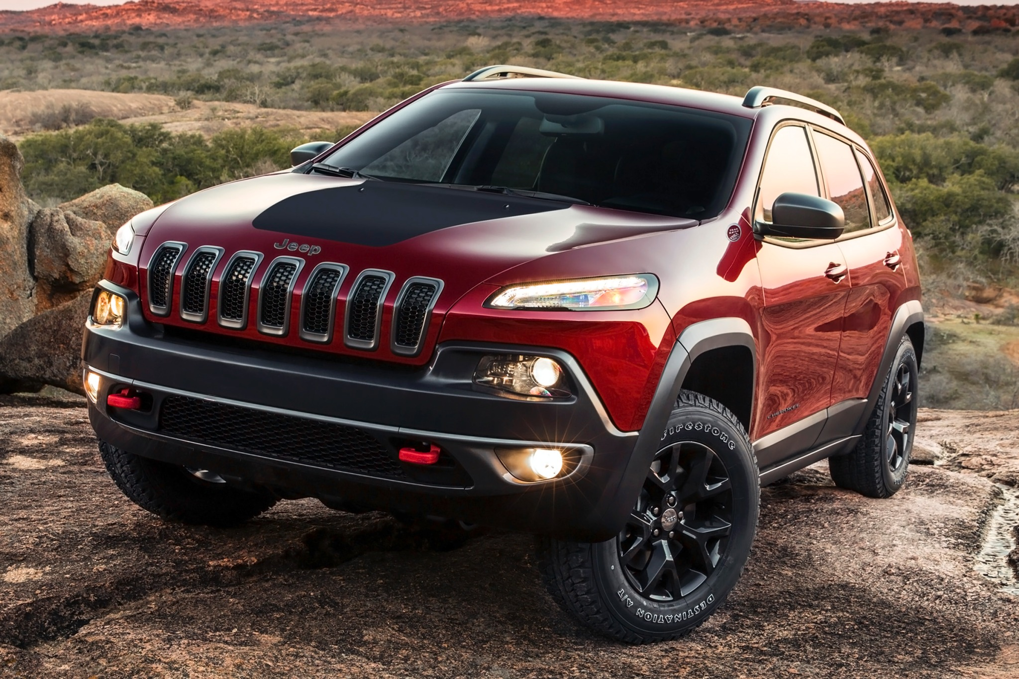 2014 Jeep Cherokee Trailh exterior #3