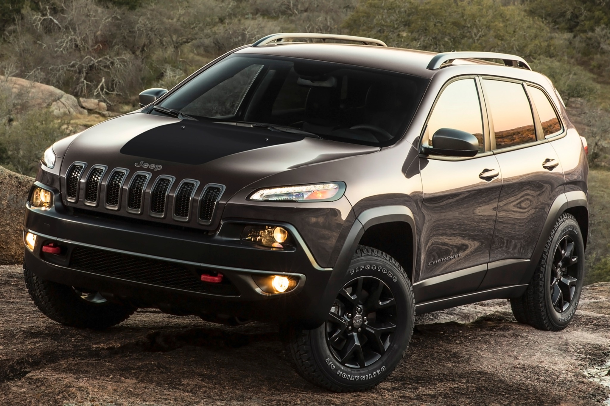 2014 Jeep Cherokee Trailh exterior #1