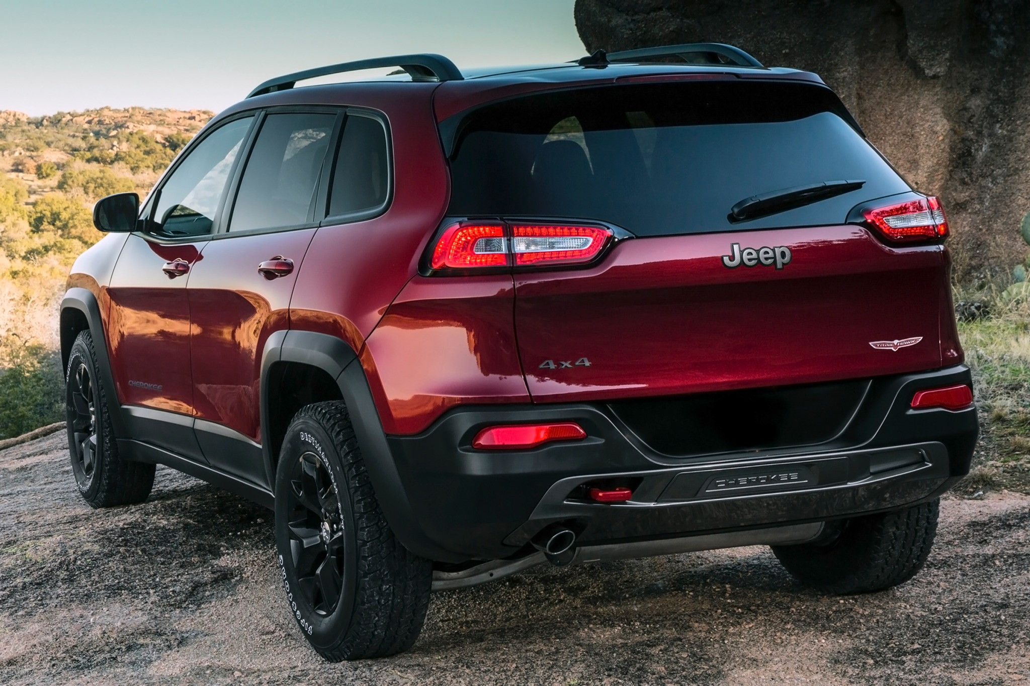 2014 Jeep Cherokee Trailh exterior #9