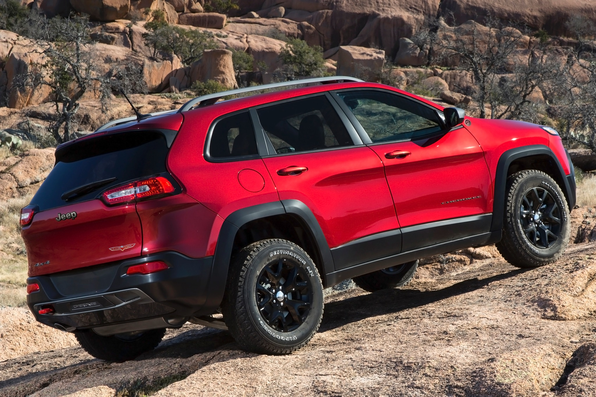 2014 Jeep Cherokee Trailh exterior #8
