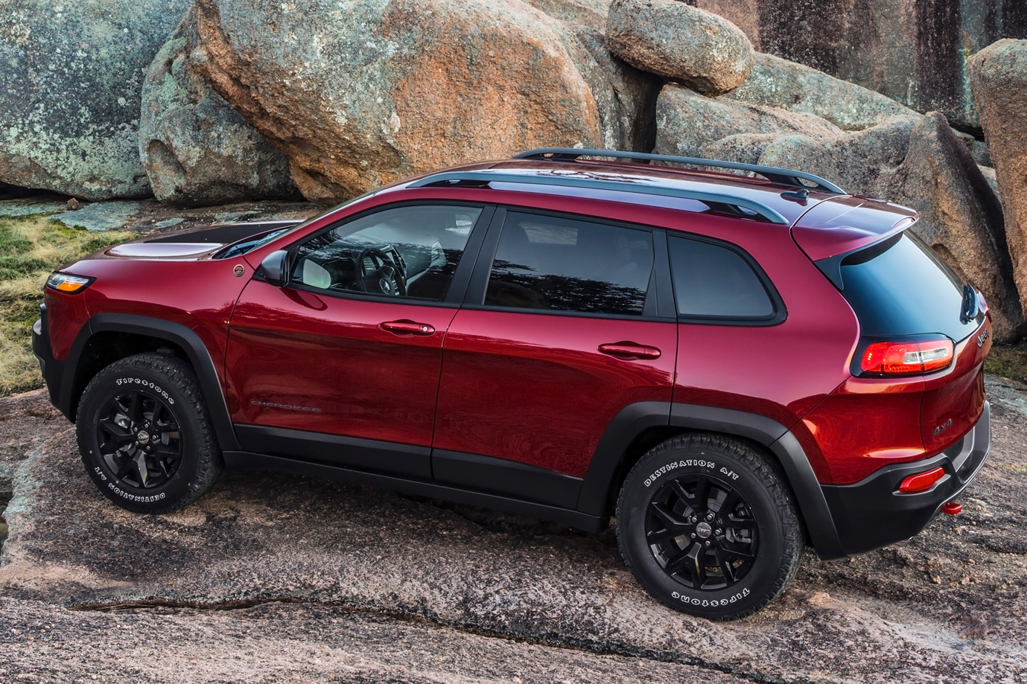 2014 Jeep Cherokee Trailh exterior #7