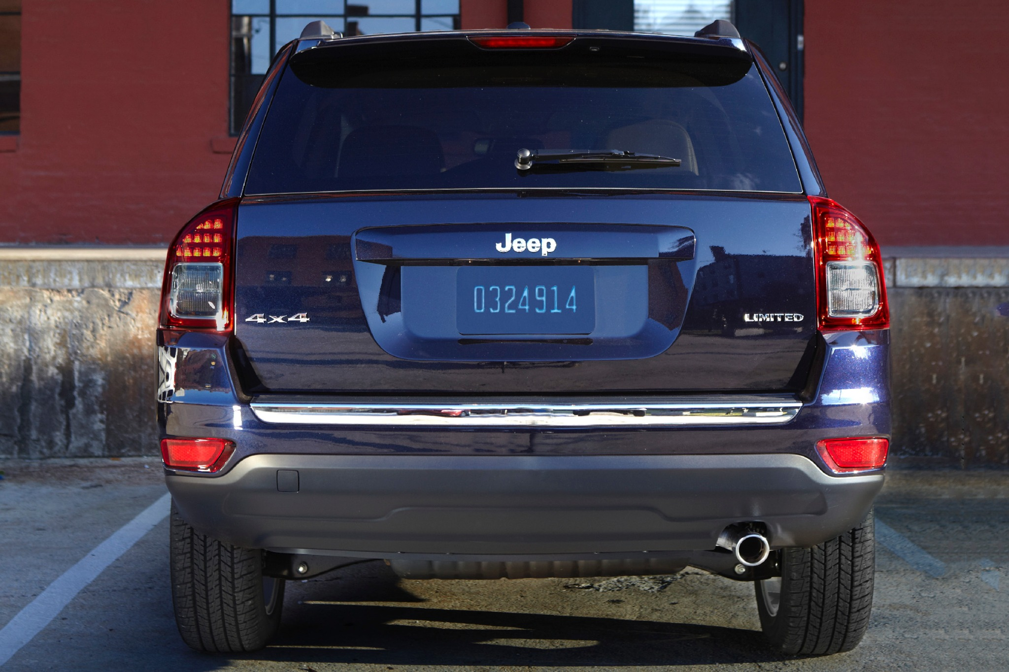 2014 Jeep Compass Limited exterior #8