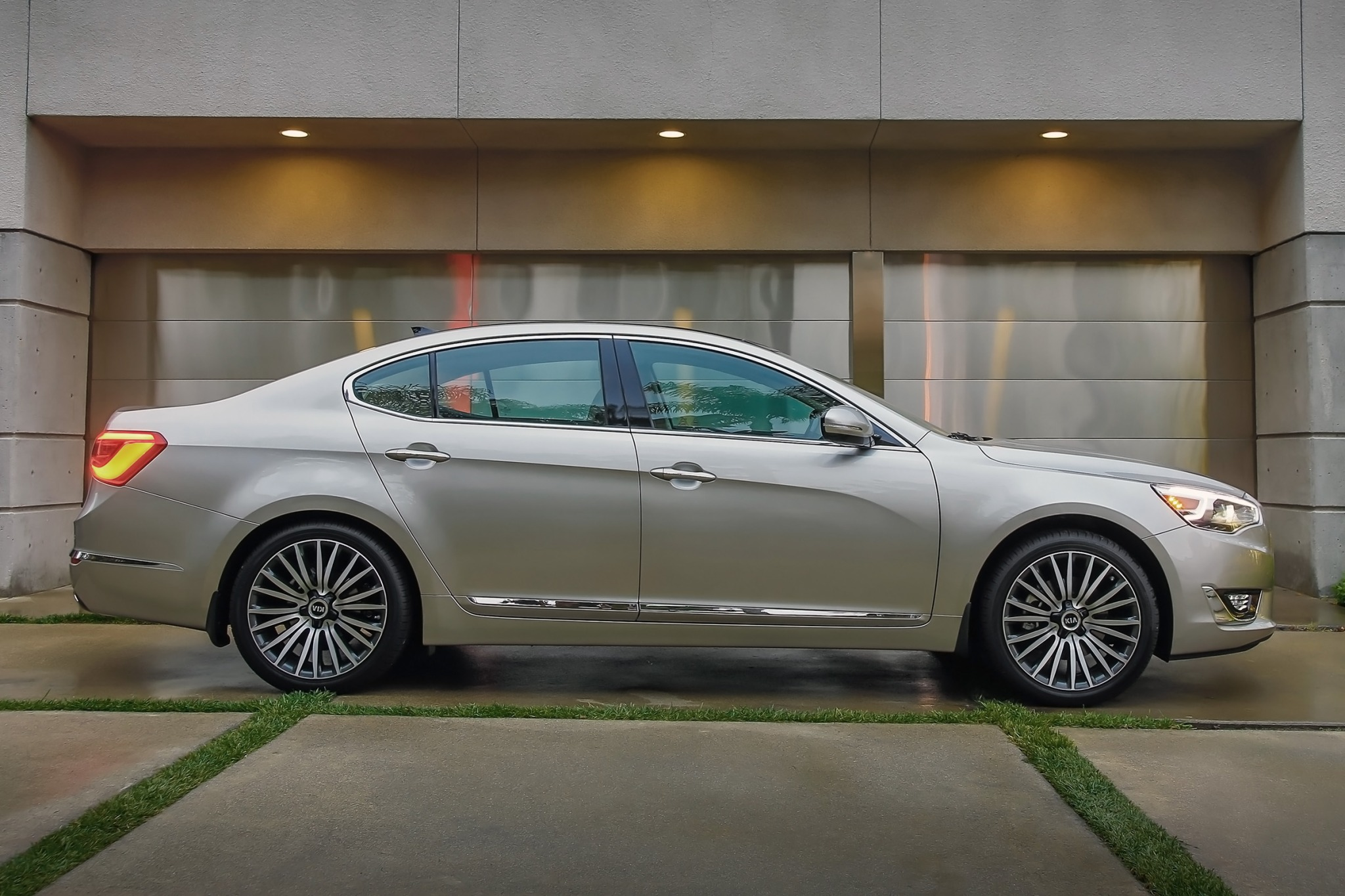 comes safety kia straight john test topline the luxury six features loaded cadenza premium road and with s leblanc