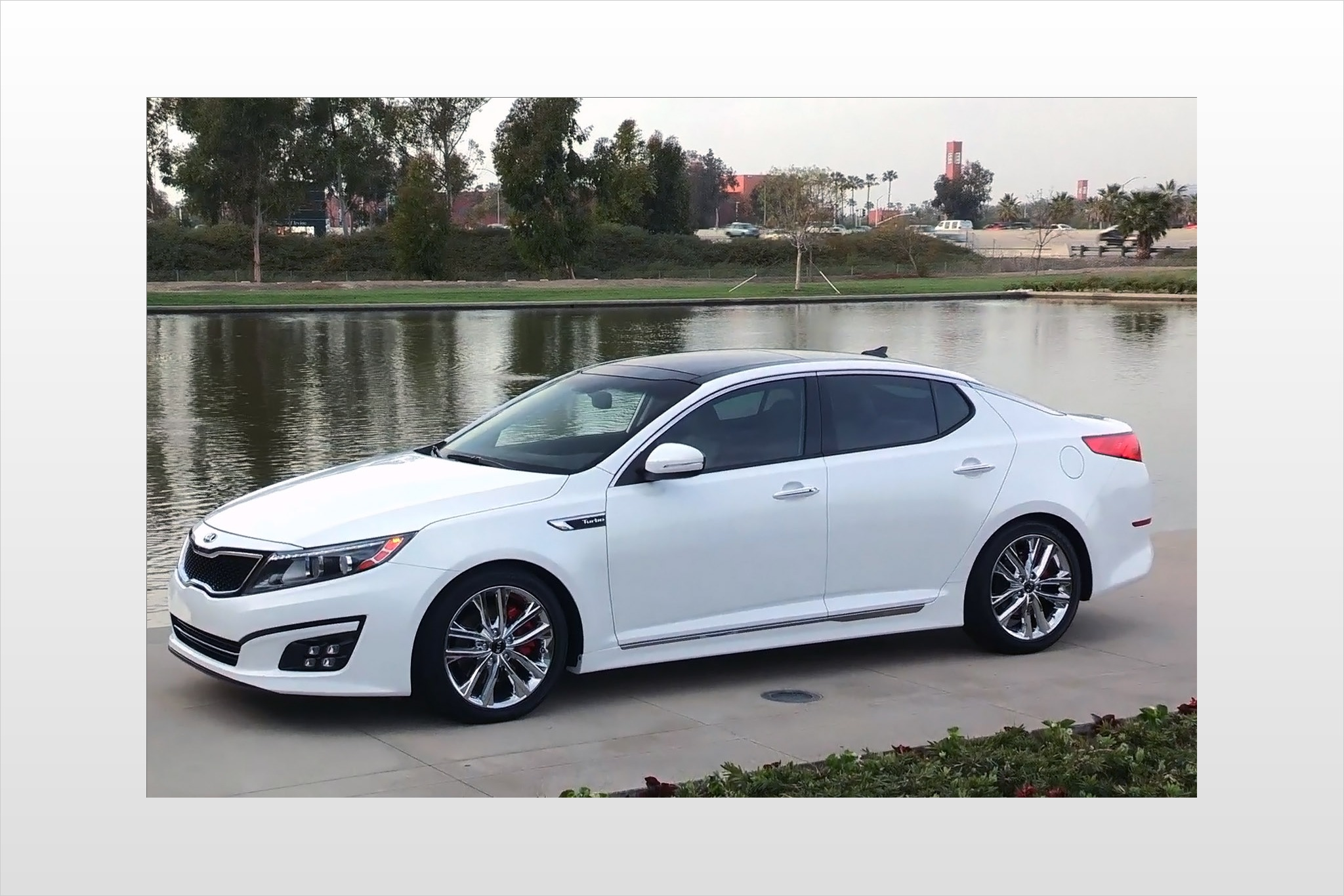 2014 Kia Optima Sedan SX  exterior #4