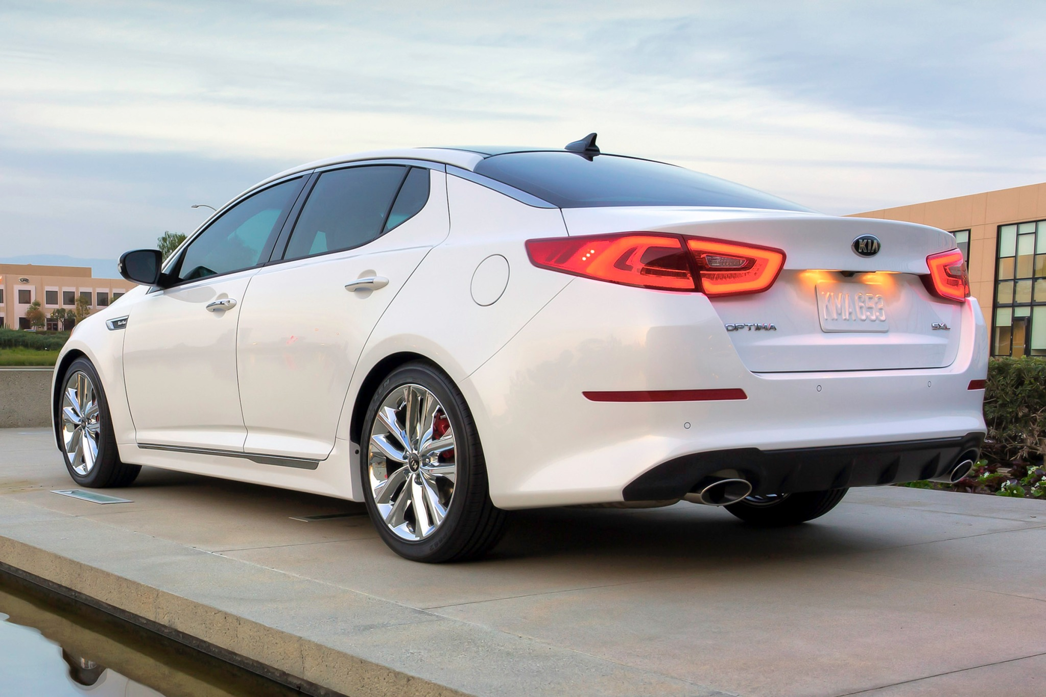 2014 Kia Optima Sedan SX  exterior #7