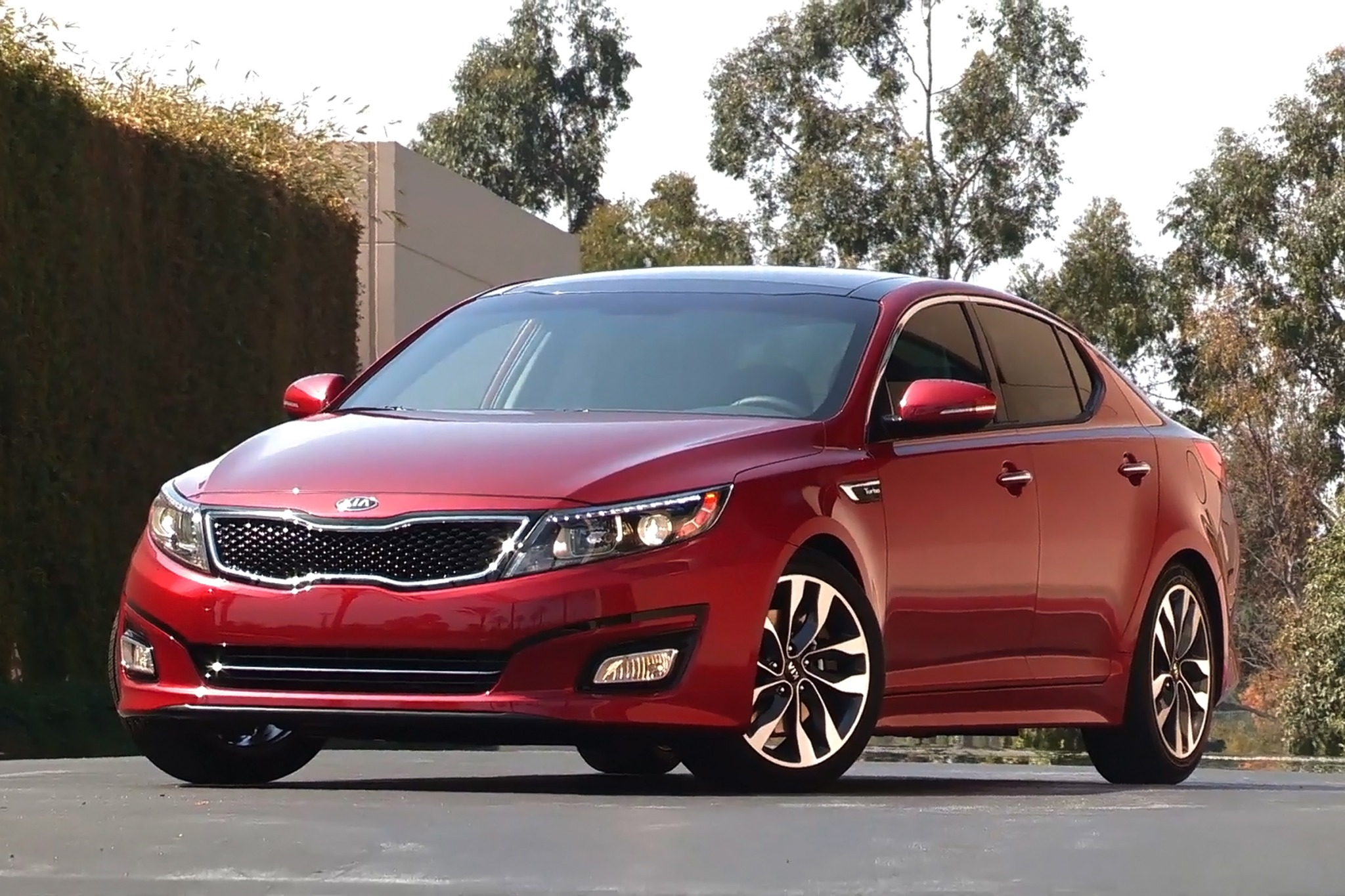 2014 Kia Optima Sedan SX  exterior #2