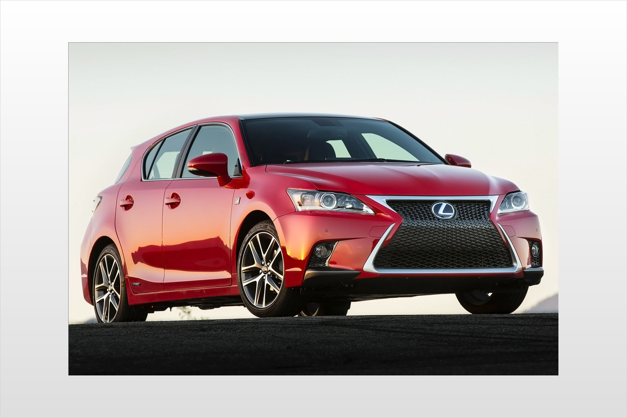 2014 Lexus CT 200h 4dr Ha interior #3