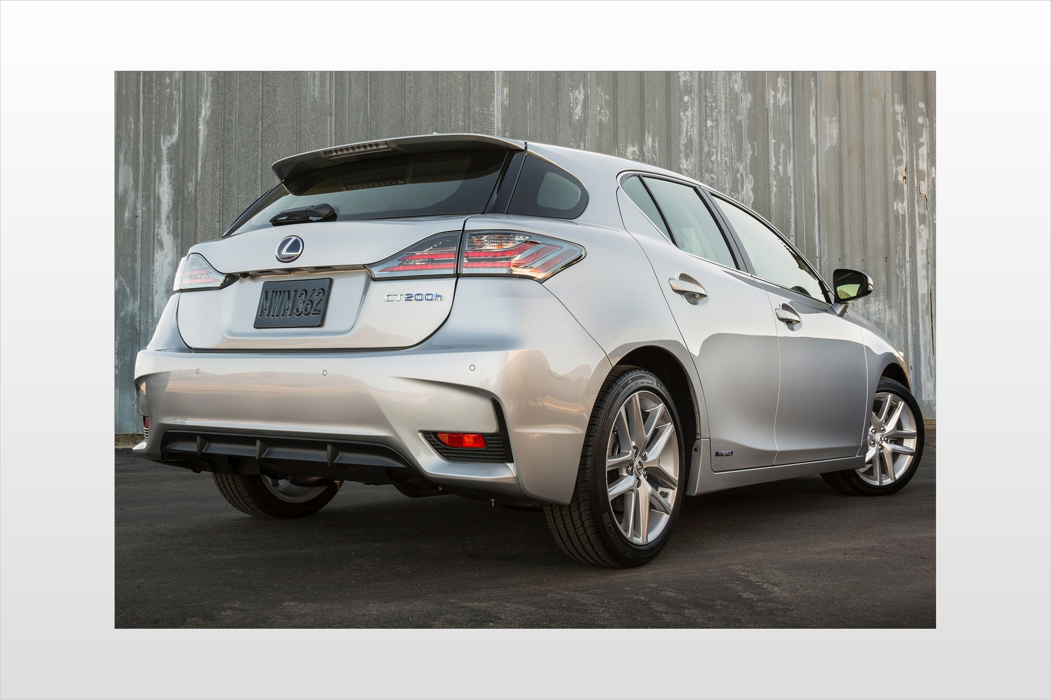 2014 Lexus CT 200h 4dr Ha interior #7
