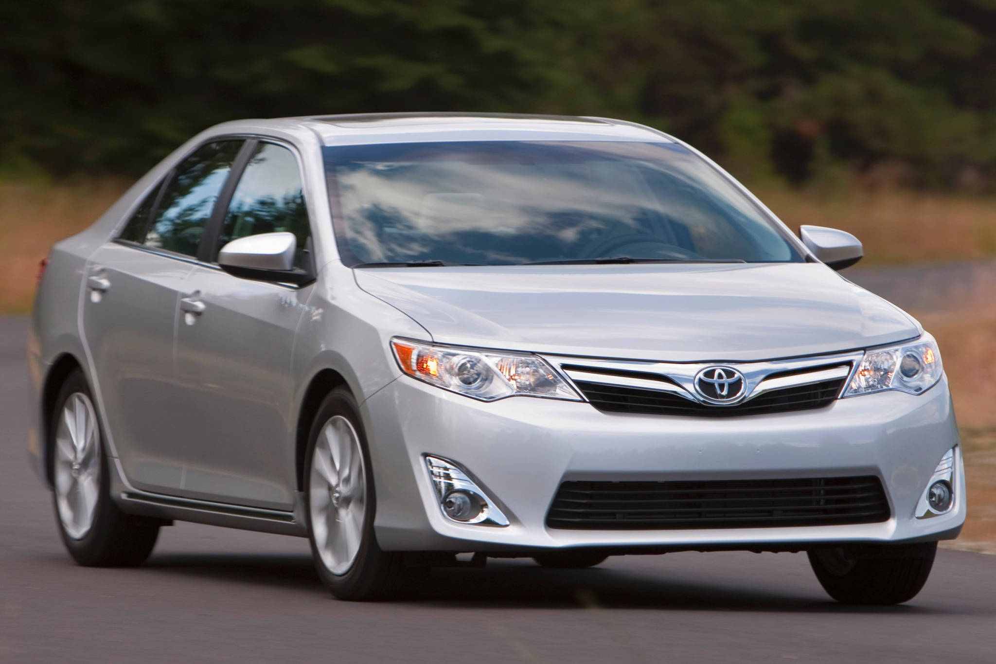 2014 Toyota Camry #10 2012 Toyota Camry XLE Sed Exterior #10