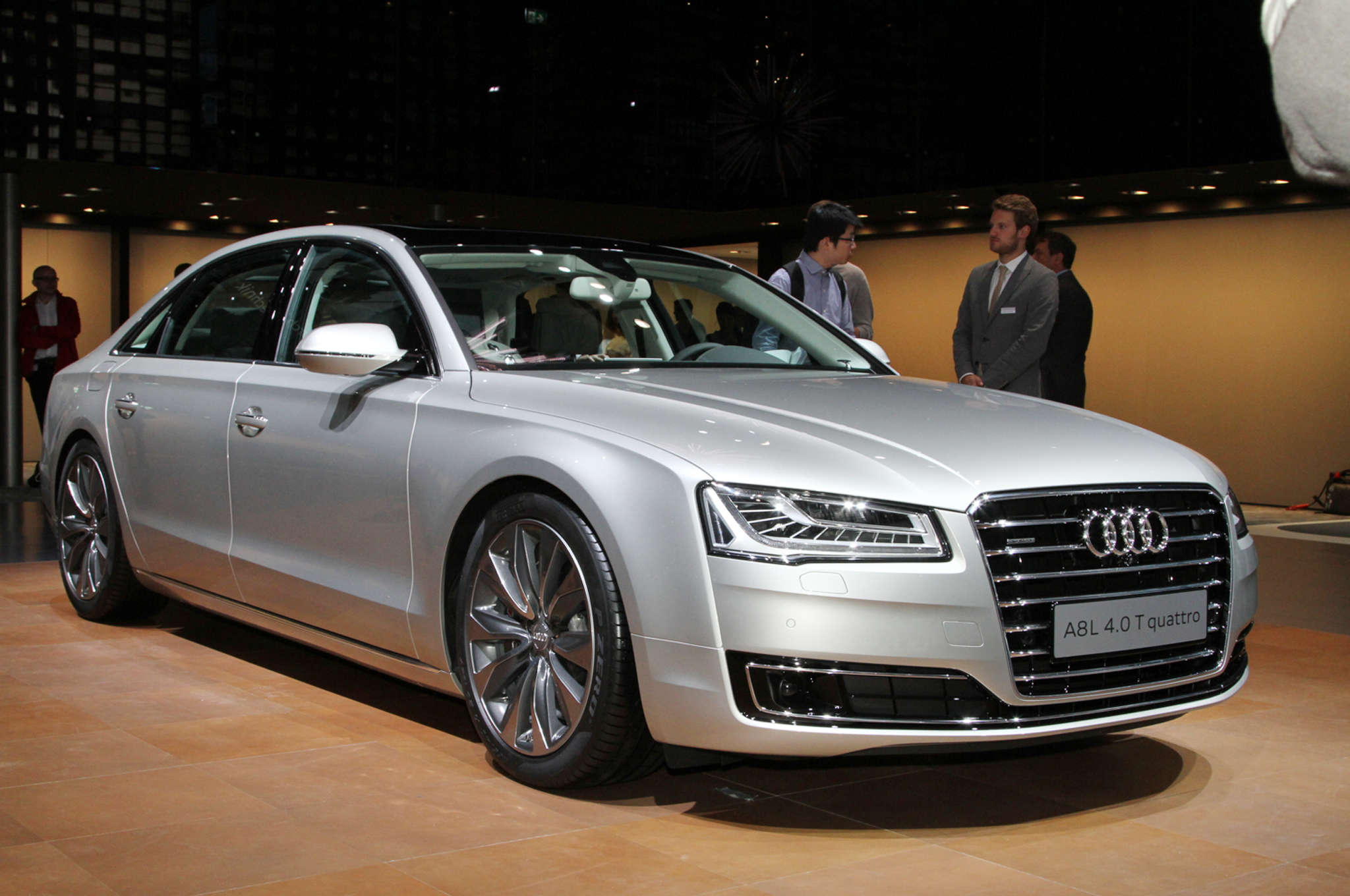 2015 audi a8 information and photos zombiedrive
