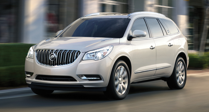 2015 Buick Enclave - Information and photos - ZombieDrive