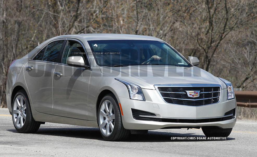2015 Cadillac Ats Image 9