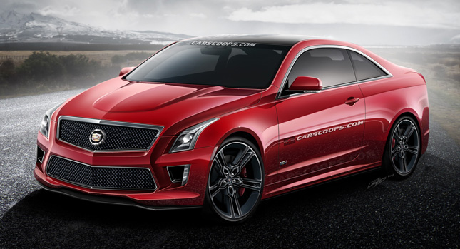 2015 Cadillac CTS-V Coupe #10