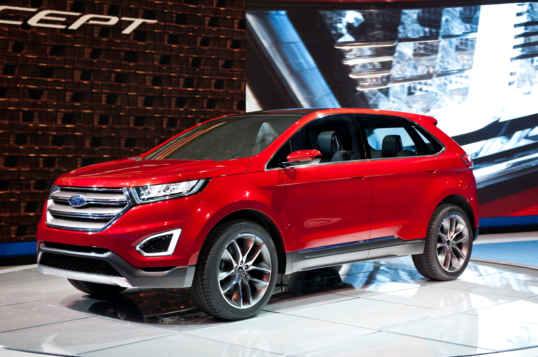 2015 ford edge information and photos zombiedrive. Black Bedroom Furniture Sets. Home Design Ideas
