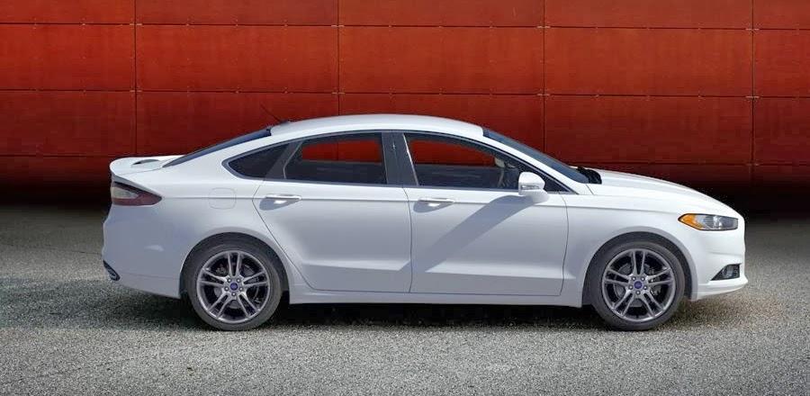 Ford Fusion 2015 White