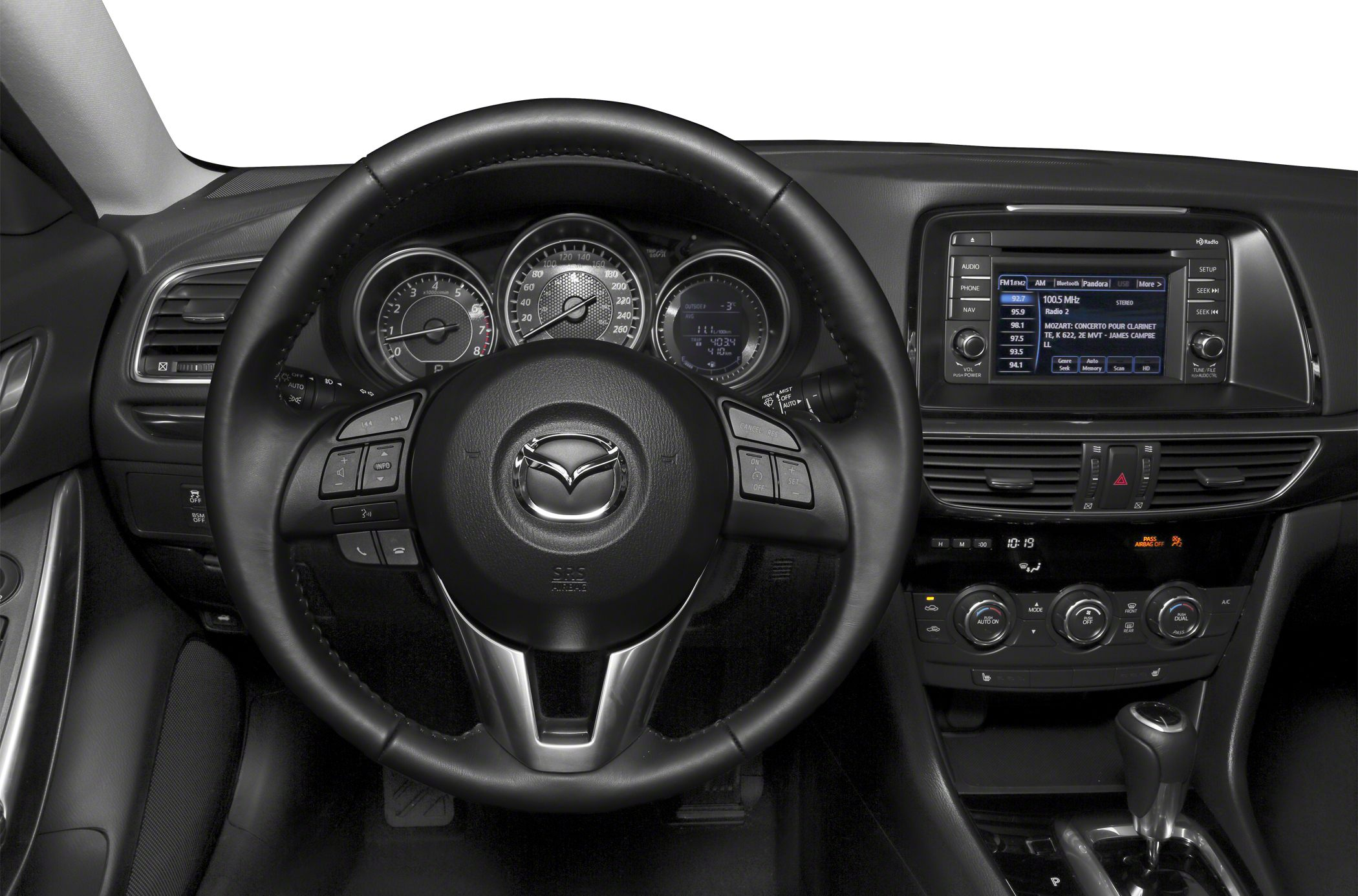 mazda review touring radio i grand system