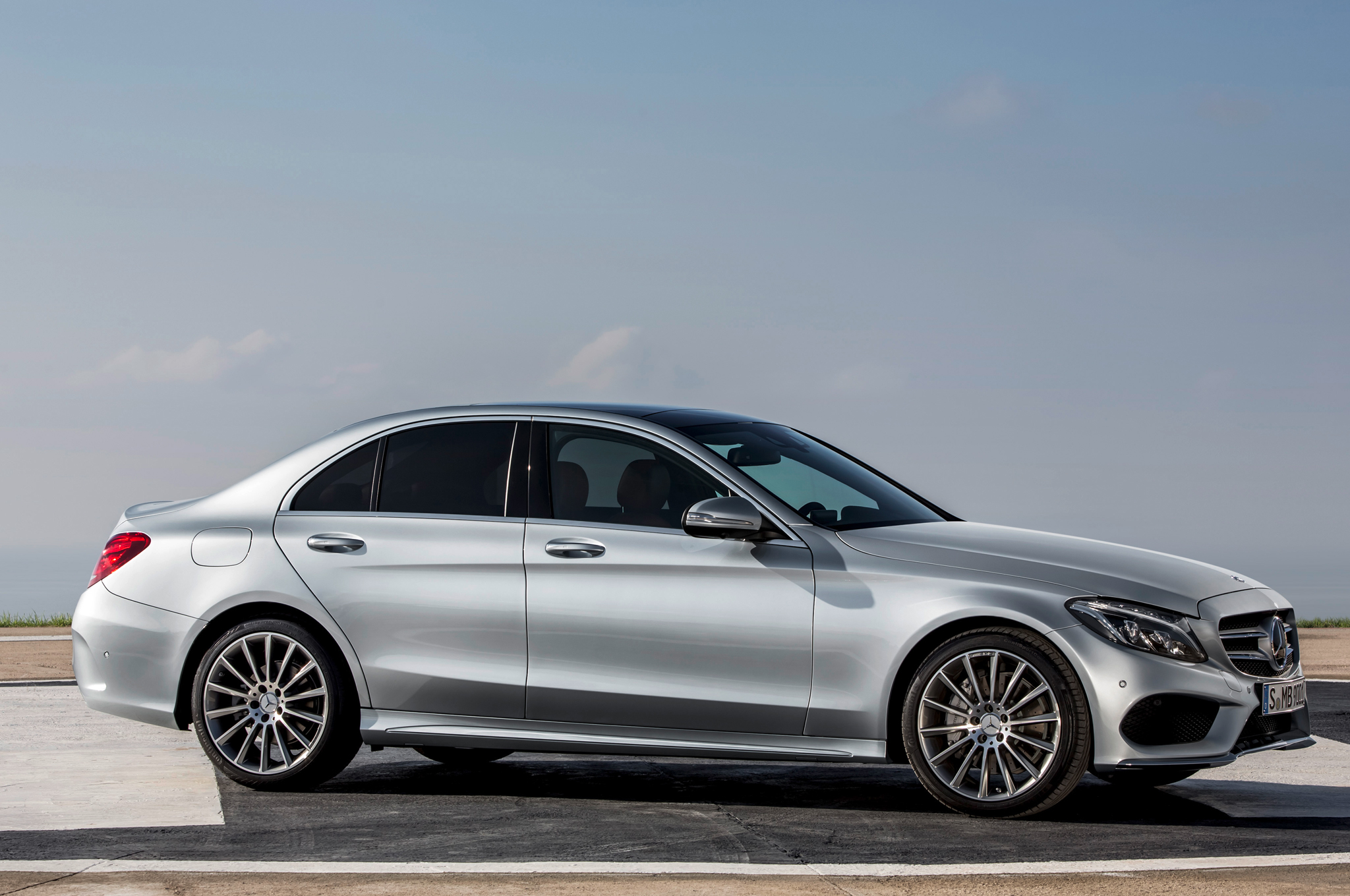 2015 mercedes benz c class information and photos zombiedrive. Black Bedroom Furniture Sets. Home Design Ideas