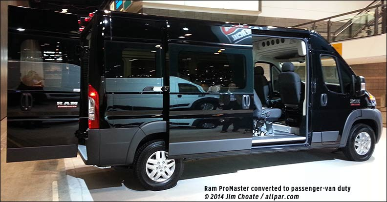 2015 Ram Promaster Window Van #2