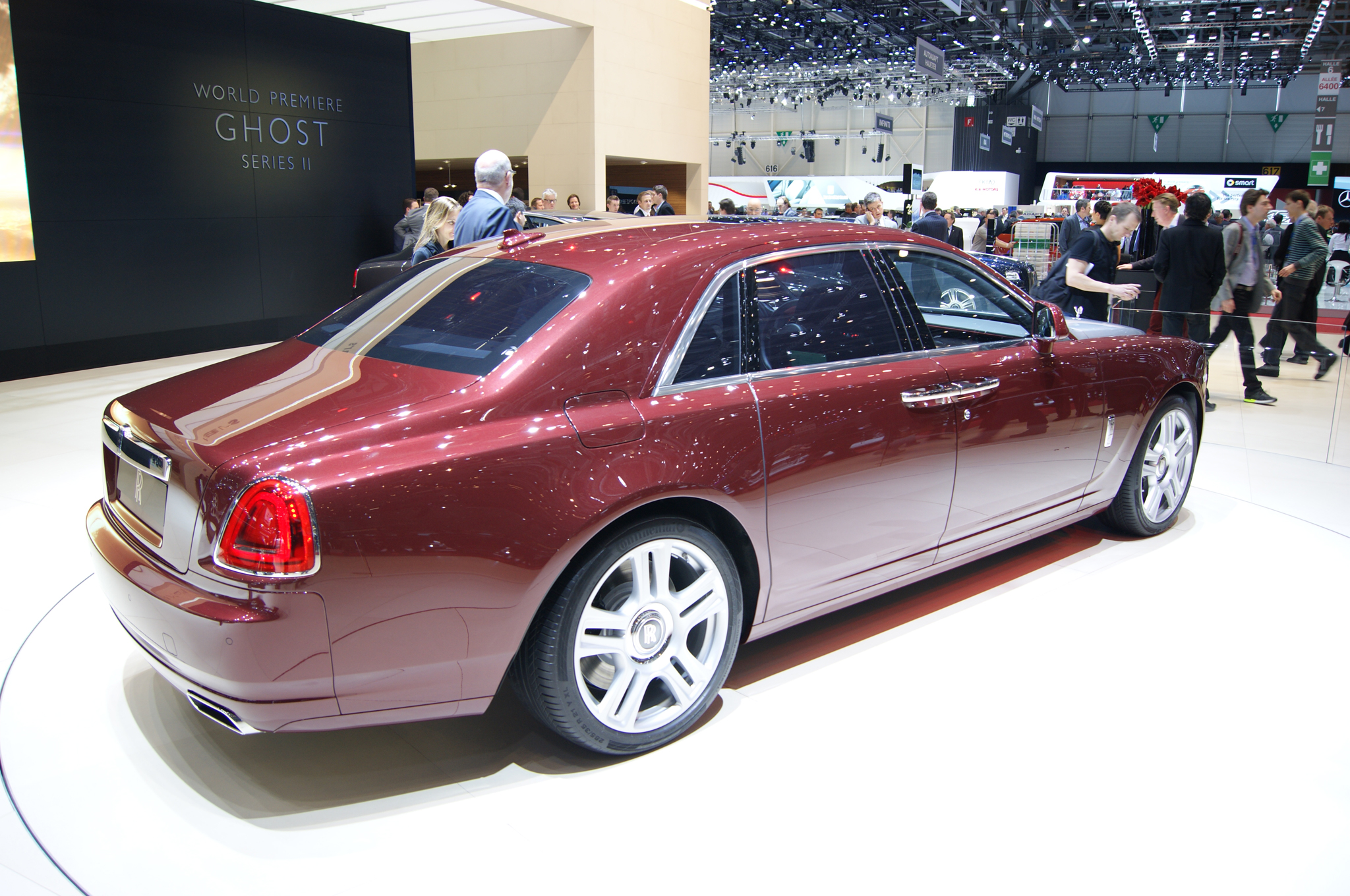 2015 Rolls-Royce Ghost Series II #7