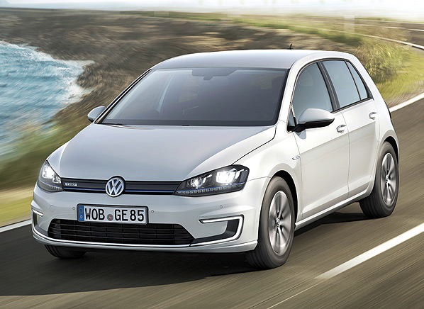 2015 Volkswagen e-Golf #10