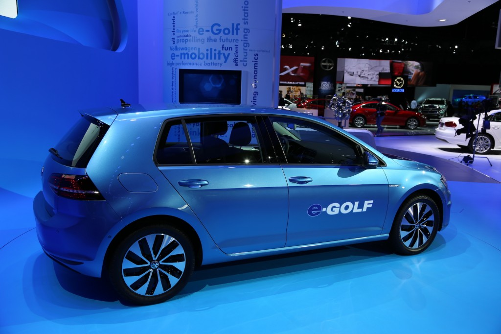 2015 Volkswagen e-Golf #4