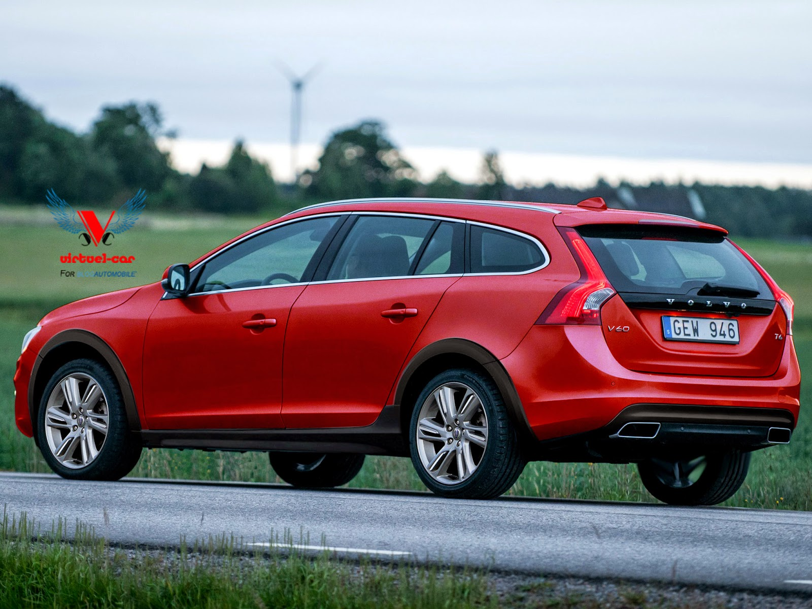 2015 Volvo V60 Cross Country #5