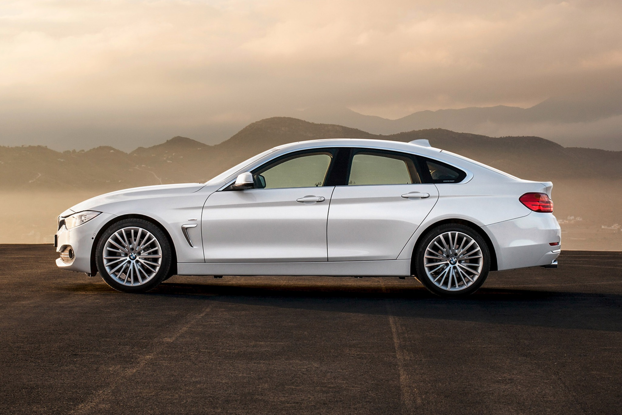 2015 BMW 4 Series Gran Coupe Co Exterior
