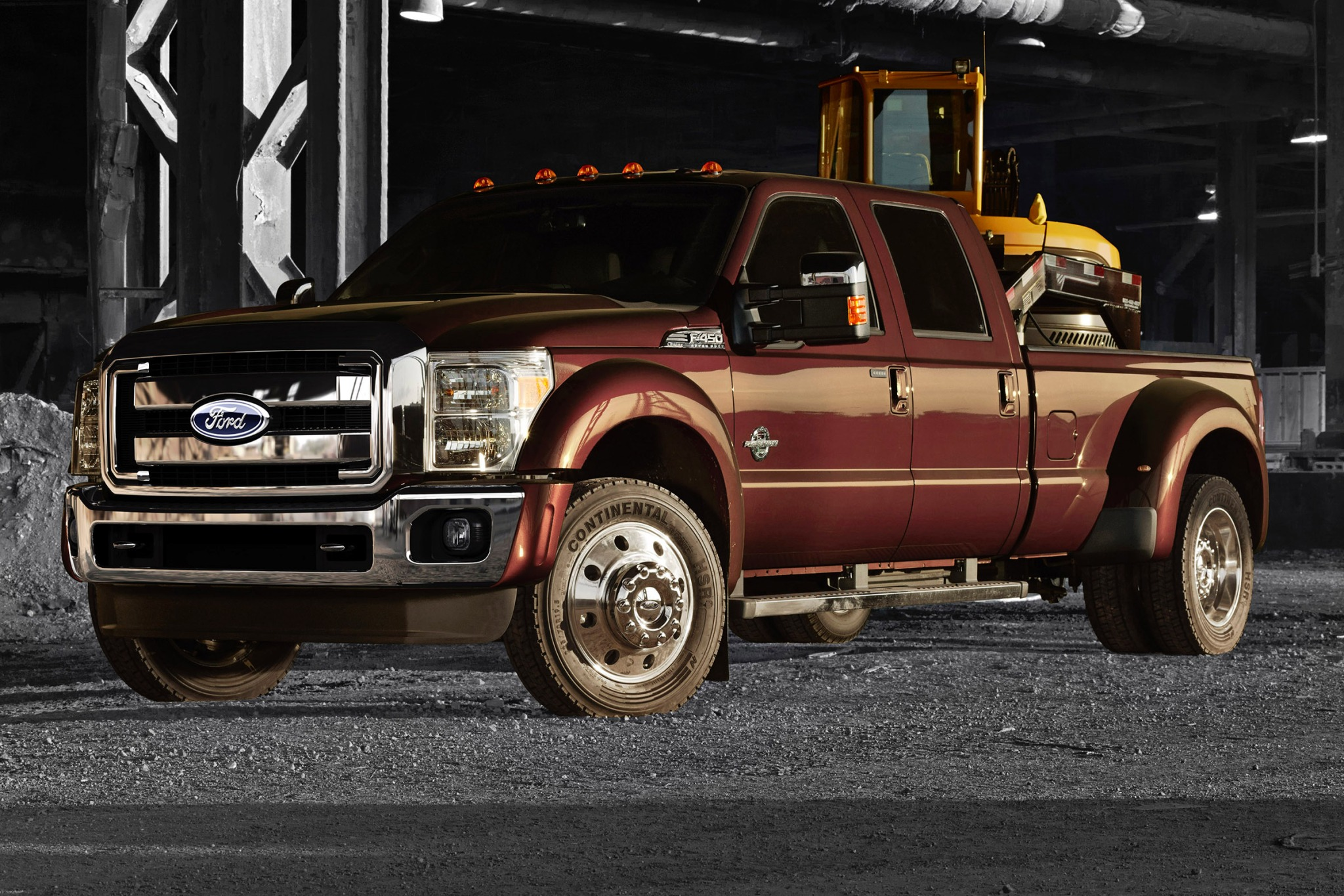2015 Ford F-450 Super Dut interior #3