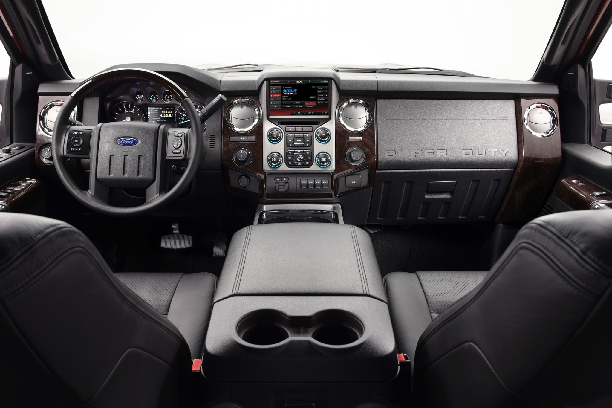 2015 Ford F-450 Super Dut interior #6